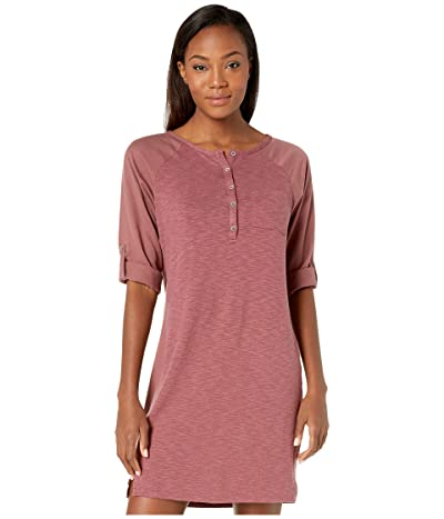 Prana Hensley Henley Dress (Brandy) Women