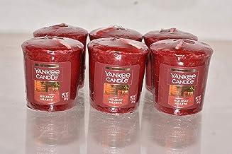 شمعة عيد الميلاد من يانكي كاندل مجموعة من 6 شموع نذور العينات 50 مل