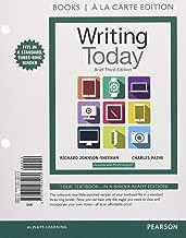 Writing Today, Brief Edition, Books a la Carte Edition (3rd Edition)