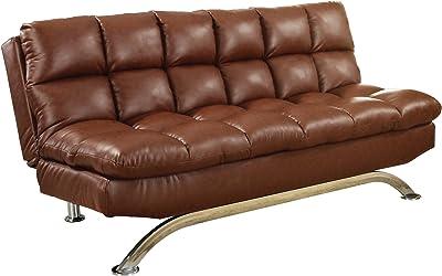 Amazon.com: Flip Chair Convertible Sleeper Dorm Bed Couch ...