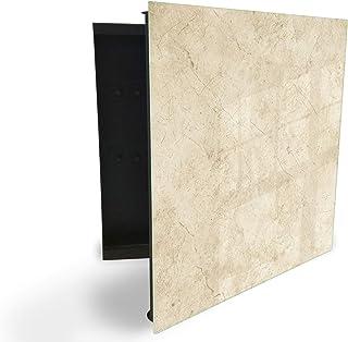 GlassArtist Boite à clés 30 x 30 cm avec façade en Verre magnétique 57189688