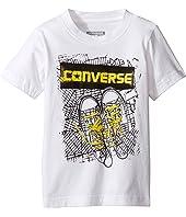 Converse Kids - BK Map Tee (Toddler/Little Kids)