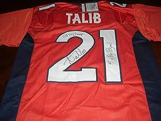 Aqib Talib Autographed Jersey - 5x Pro Bowl Sb 50 Champ coa - JSA Certified - Autographed NFL Jerseys