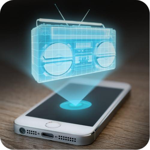 Hologram Boombox Prank