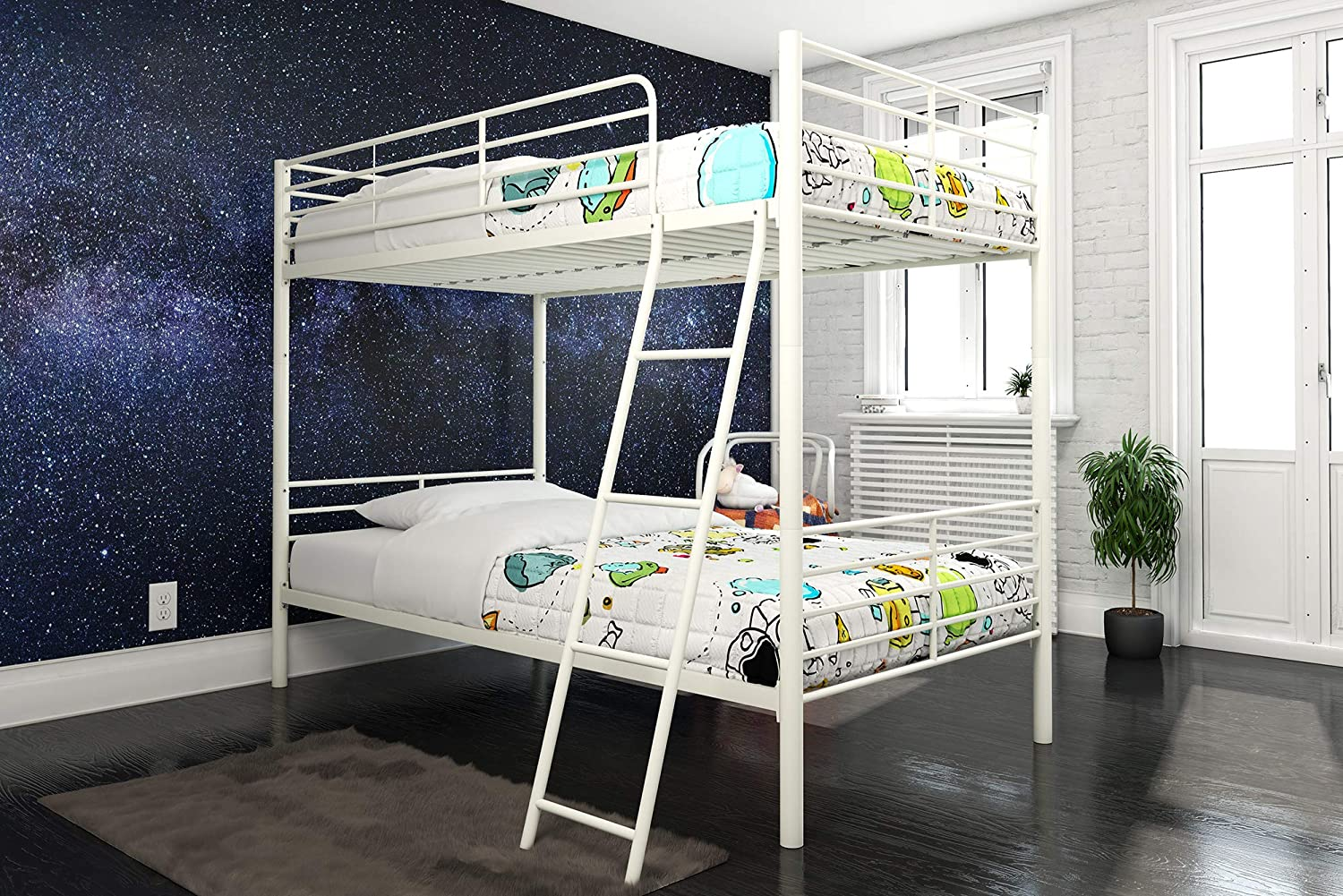DHP Tailor Convertible Bunk bed Converts to Beds Max 73% OFF Twin two Raleigh Mall