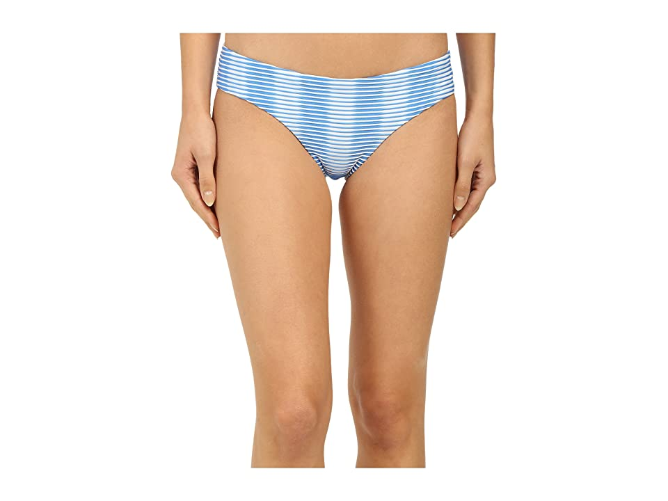 Shoshanna Ombre Textured Stripe Hipster Bottoms (Blue/White) Women