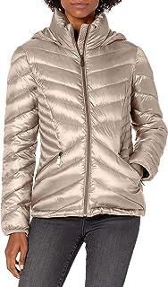 Calvin Klein womens Chevron Packable Down Coat