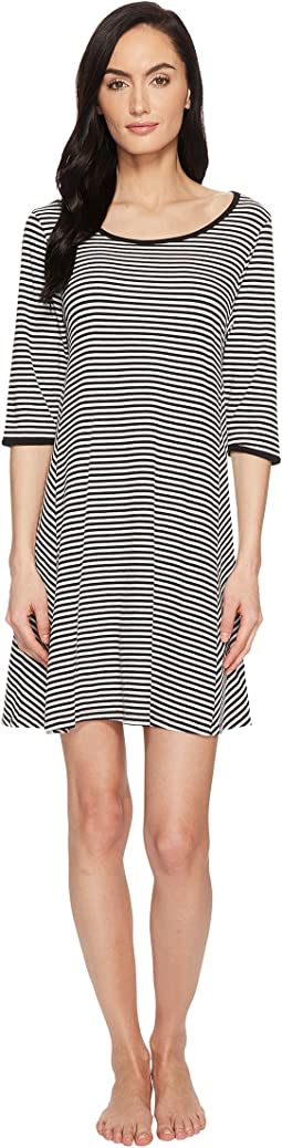 Kate Spade New York - Spring Stripe Sleepshirt