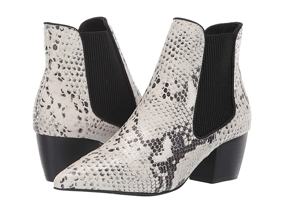 Sol Sana Ella Boot (Black/White Snake) Women