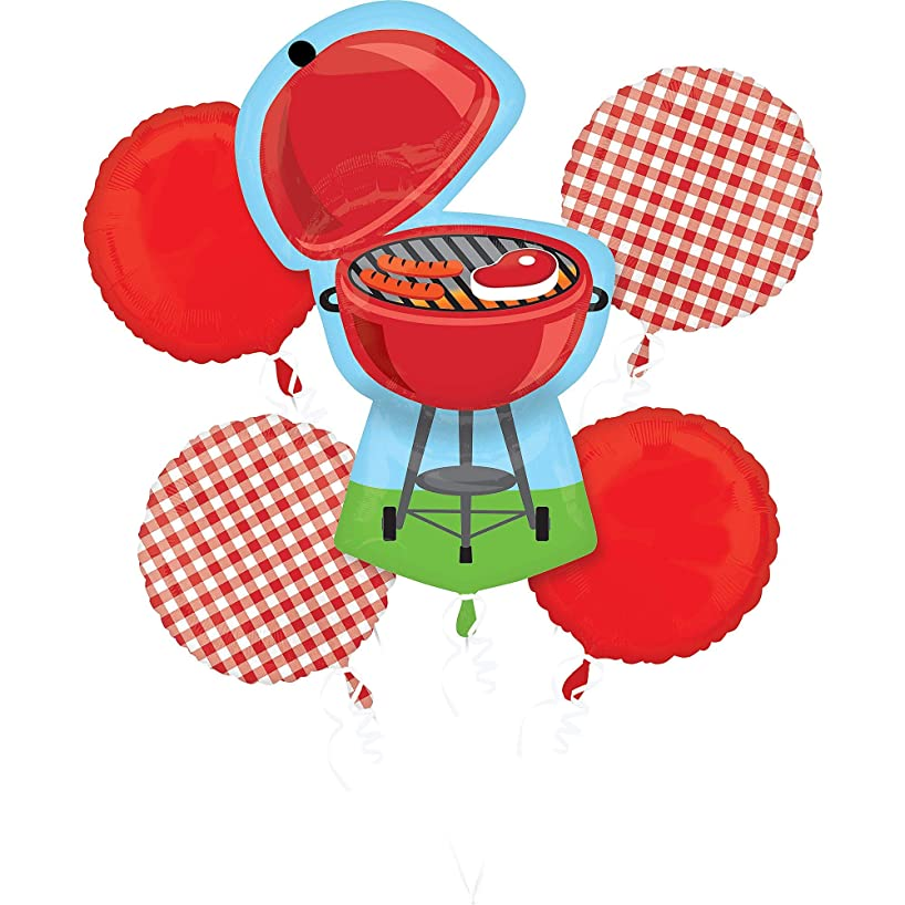 Anagram 5 Pc Barbecue Balloon Bouquet