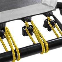 SportPlus Rubberen touwset voor SportPlus Fitness trampoline, 36 bungee-touwen incl. bevestigingsclips, diverse hardheidsg...