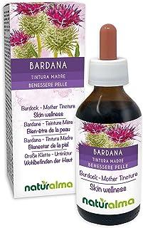 BARDANA (Arctium lappa) hierba y raíces Tintura Madre sin alcohol NATURALMA   Extracto líquido gotas 100 ml   Complemento ...