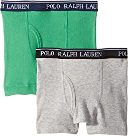Polo Ralph Lauren Kids 2-Pack Boxer Briefs (Little Kids/Big Kids)