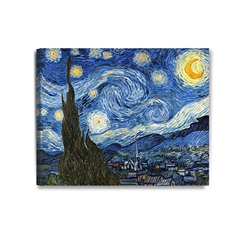 d393fa30e7ec11 DECORARTS Starry Night by Vincent Van Gogh The Classic Arts Reproduction