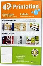 210 x 148 mm PET-Folie permanent 200 Blatt 200 Etiketten A5 Bogen