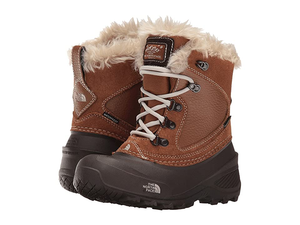 The North Face Kids Shellista Extreme (Toddler/Little Kid/Big Kid) (Dachshund Brown/Moonlight Ivory) Girls Shoes