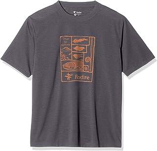 [フォックスファイヤー] 【着ているだけで-3度】【UVカット】【コカゲシールド】【吸汗速乾】【スポーツ観戦】 Cシールド レイクトラウト T S/S 半袖 5215002 メンズ