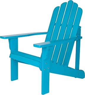 Shine Company 4618TQ Marina Adirondack Chair, Turquoise