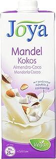 JOYA Bio Mandel Kokos Drink 10er Pack 10 x 1l I veganer Milch Ersatz I Mandel Getränk ohne Zuckerzusatz laktosefrei I Almond Drink Organic I Plantbased I Milchalternative pflanzlich