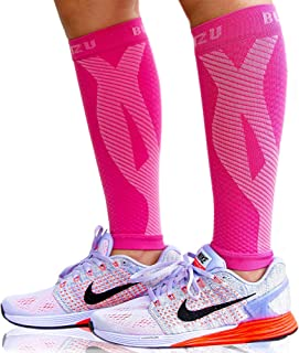 Calf Compression Sleeves for Men Women. Footless Compression Socks Without Feet . Shin Splints, Varicose Vein Treatment fo...
