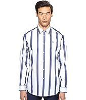 Vivienne Westwood - Bold Stripe Cutaway Shirt