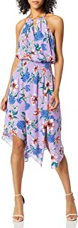 Parker womens Herley Sleeveless Smocked Waist Midi Dress Dress