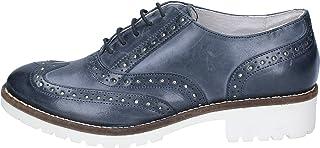Crown Scarpe Classiche Donna Pelle Blu