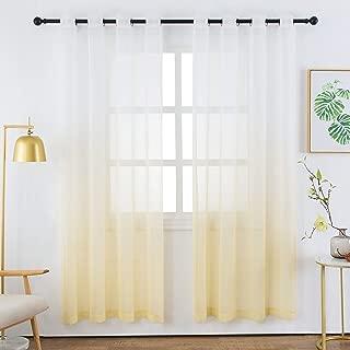 Best light yellow curtain Reviews