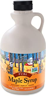 Coombs Family Farms Maple Syrup, Pure Grade A, Amber Color, Rich Taste, 32 Ounce Jug