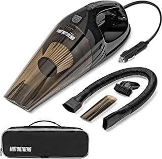 Sponsored Ad - Lightweight & Portable Handheld Car Vacuum Cleaner Interior Cleaning Wet or Dry Mess Includes 3 Accessories + HEPA Filter & Carrying Bag Powerful Suction