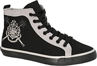 Ground Up Harry Potter High Top Shoe - XS Black