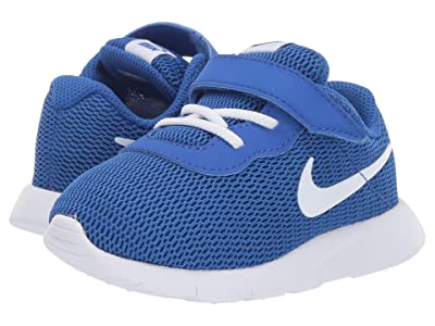 Nike Kids Tanjun Wide (Infant/Toddler) (Game Royal/White) Boys Shoes