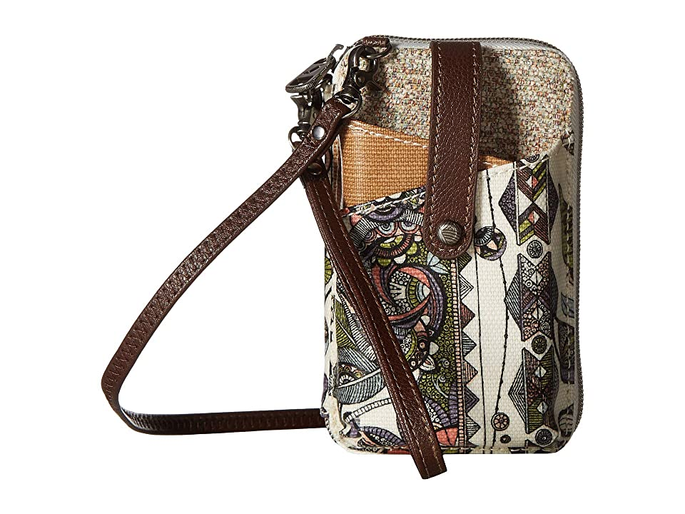 Sakroots Artist Circle Smartphone Wristlet (Pastel Spirit Desert) Wristlet Handbags