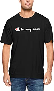 Champion Men's Script Short Sleeve Tee