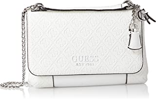 Guess Womens Cross-Body Handbag, White - SY766921