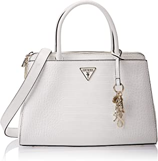 GUESS Womens Maddy Satchels Bag
