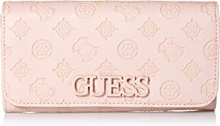 GUESS womens Kamryn Peony Large Flap Organizer Wallet