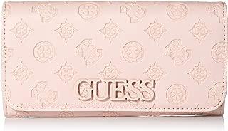 GUESS womens Kamryn Peony Large Flap Organizer Wallet