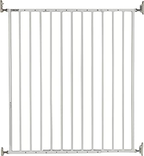 Stork Craft Easy Walk-Thru Tall Metal Safety Gate, White
