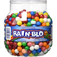 Rain-blo Bubble Gum Balls 53 Ounce Jar