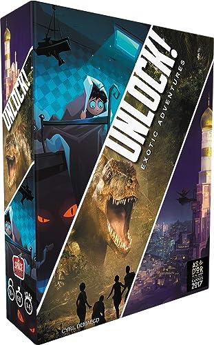 Unlock! Exotic Adventures - Asmodee - Jeu de société - Escape game - Jeu coopératif