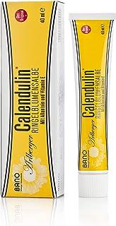 BANO Calendulin Ringelblumensalbe 40ml - mit Allantoin und Vitamin E