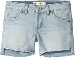 Levi's® Kids - Altered Denim Shorty Shorts (Big Kids)