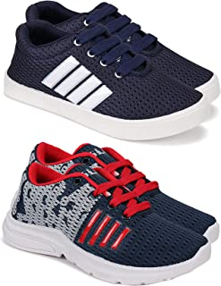 Camfoot Kids & Boys (9266-9295) Multicolor Casual Stylish Sports Shoes (Set of 2 Pair)