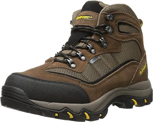 Hi-Tec Men's Skahommeia Mid Waterproof Hiking démarrage, marron or,10.5 W US
