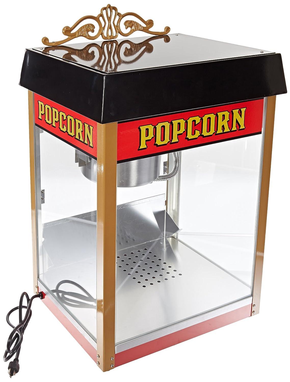Benchmark 11080 Ranking TOP8 Street Vendor online shop Popcorn 12A 1430W 120V Machine