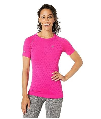 ASICS Short Sleeve GEL-Cool Top (Pink Rave) Women