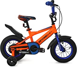 Upten Beyond Kid's Bike for Boys and Girls, 12 14 16 18 inch with Training Wheels Children Bicycles, in Multiple Colors