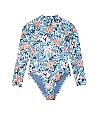 Roxy Kids Chase Your Dream Lycra Swim One-Piece (Big Kids) (Blue Heaven Pardee) Girl