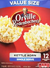 Popcorn Kettle Corn - Orville Redenbacher's Gourmet Kettle Korn Popcorn, Single Serve 12 Count